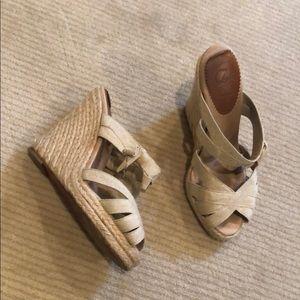 Christian Louboutin Shoes - christian louboutin espadrille wedges. size 36.
